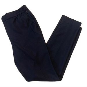 NEW Massimo Dutti Navy Blue Chic Career Trousers